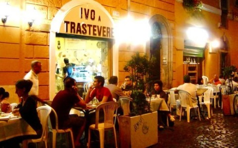Pizzeria Ivo a Trastevere