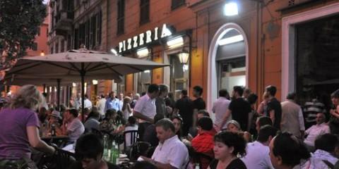 Pizzeria ai Marmi in Trastevere