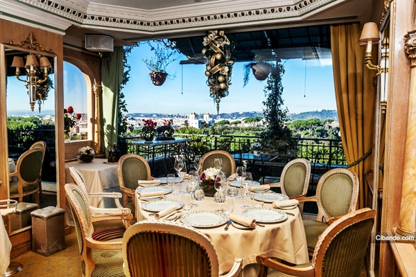Mirabelle splendide royal hotel a roma - Via di porta pinciana 34 roma ...