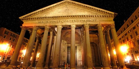 Il Patheon a Roma