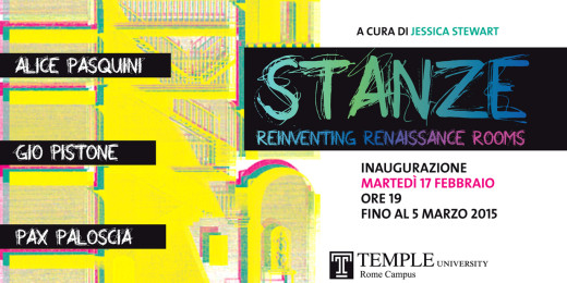 Stanze. Reinventing Renaissance Rooms